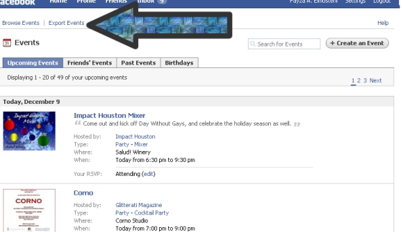 facebook-events-module